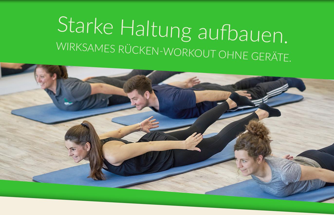 Rückenschulkurse in Dortmund Barop und Hombruch
