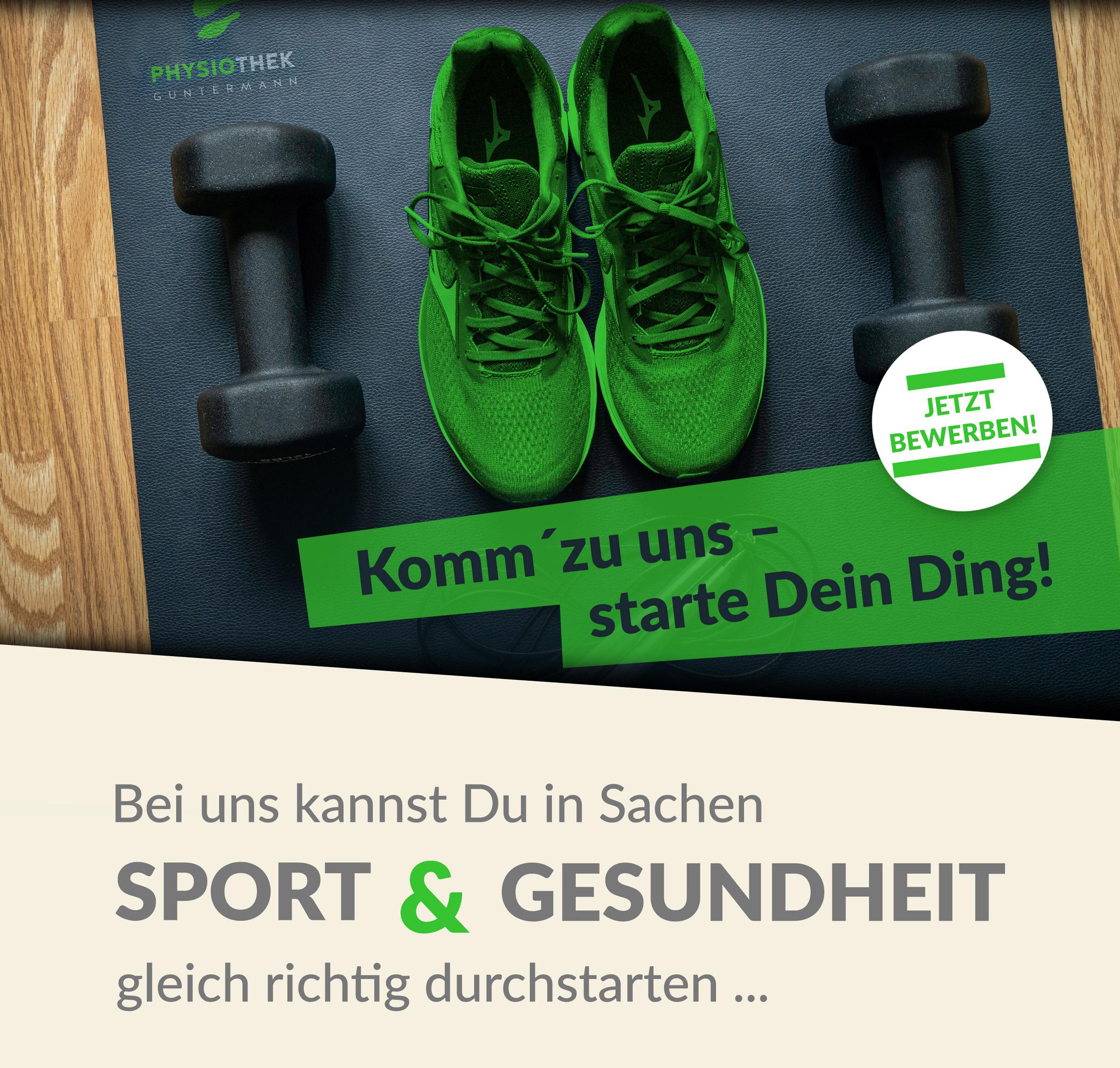 Stellenanzeige Physiotherapie in Dortmund